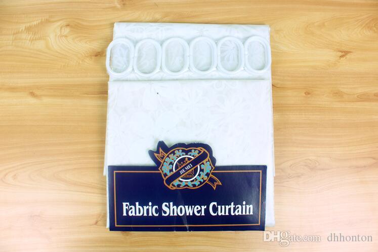 Печать более простой ЕВА водонепроницаемый mouldproof ванная занавески для душа отель ванная комната занавески для душа 180 * 180 см бесплатная доставка HK70