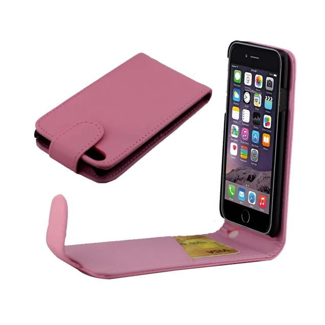 For Iphone 7 Plus 7G 7plus 7GEN Iphone7 7TH Flip PU Leather Pouch Case ID Card Slot Pocket Plain Hard PC Vertical Colorful Skin Cover Luxury