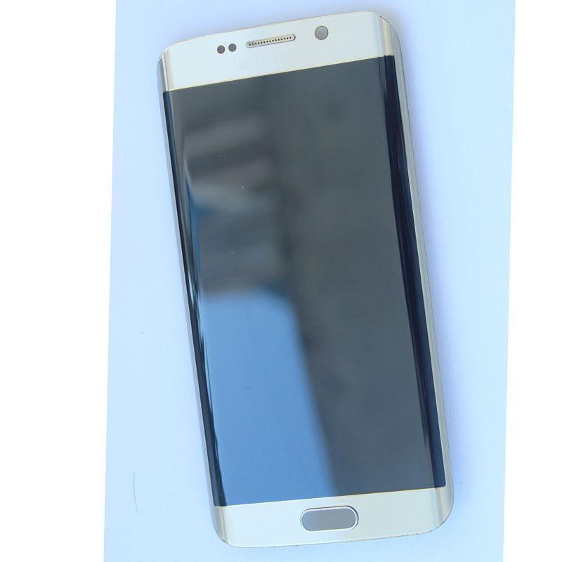 Para Samsung galaxy S6 Edge Plus G928 Pantalla LCD + Touch Screen Digitizer Gold