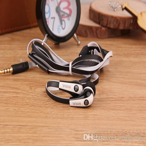 Best Rated Soul Mini SL700 di Ludacris In Ear Cuffie iPhone Samsung S7 Htc Cuffie MP3 Earphone Con Cuffie di controllo Noise Cancelling