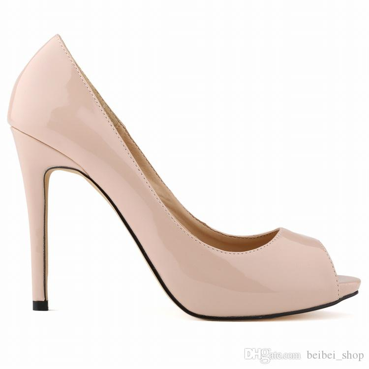 Summer Sexy Womens Open Toe High Heels Sandals Peep toe Pumps Platform Wedding shoes US 35-42 806-3PA