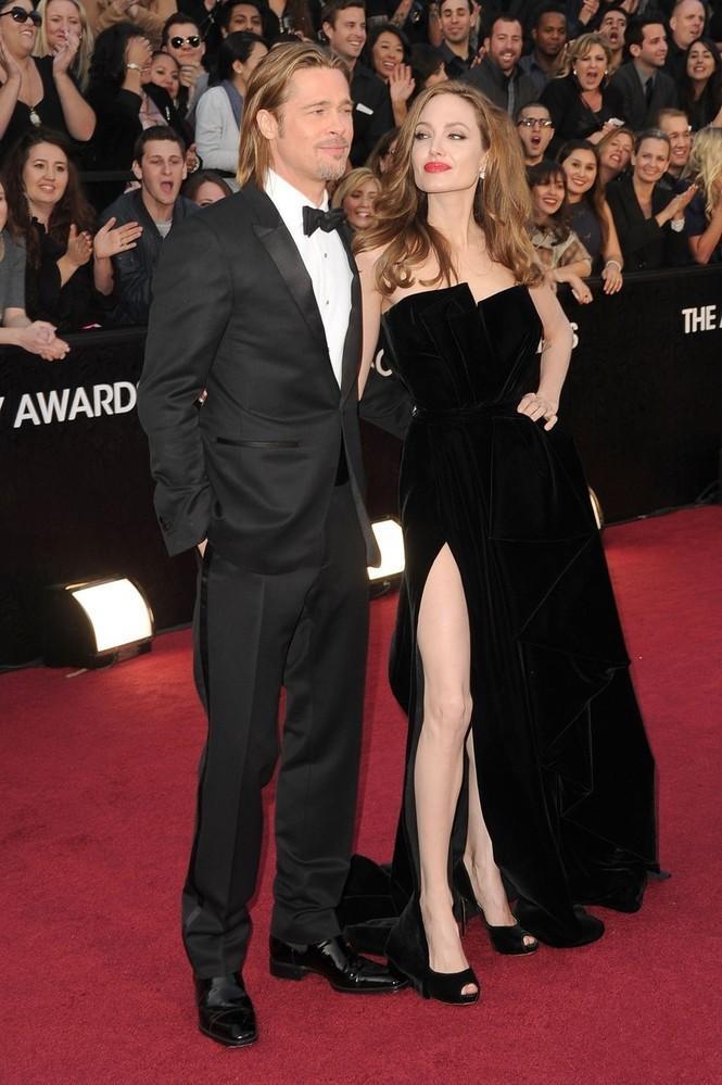 Oscar Evening Dress Hollywood Famous Actress Angelina Jolie Same ...