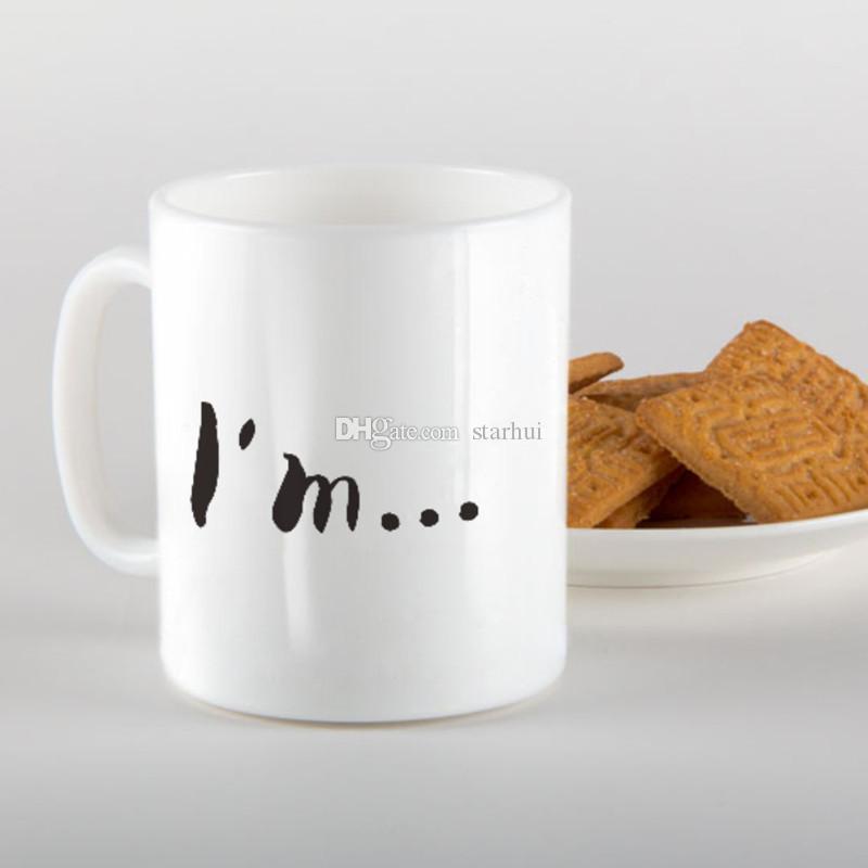 Halloween Funny Doggy Mug Ceramic Coffee Tea Cup Donkey Dog Nose DesignedCoffee Tea Cup Donkey Dog Nose Designed WX-C42