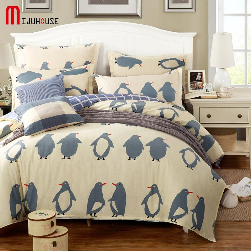 100% Cotton Bedding Sets Kids Bedspreads Cartoon Duvet Cover Set Bed Sheets  King Queen Twin Size Bed Set 1.2 1.5 1.8 2m Bed Full Duvet Cover Complete  ...