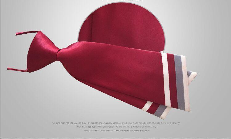 2016 nouveaux étudiants cravate double couteau type cravate 18 couleurs 22 * 7 cm soie imitation pour serveur femmes cravates cadeau de noël gratuit TNT Fedex
