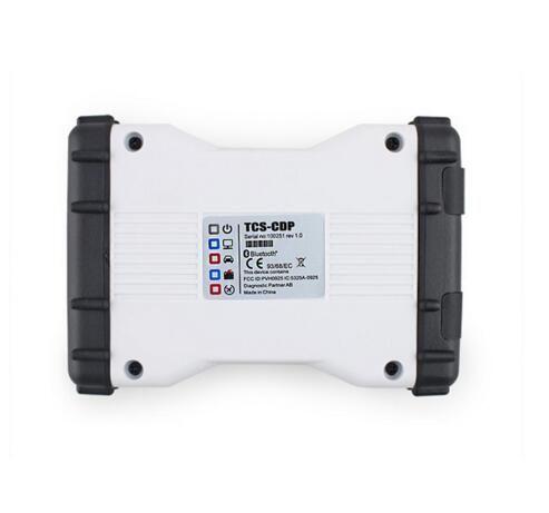 Nuevo diseño 2016.0 softwareTCS CDP OBD2 Scanner con el más nuevo blanco TCS CDP Pro Nuevo VCI para automóviles y camiones Precio barato y envío gratis