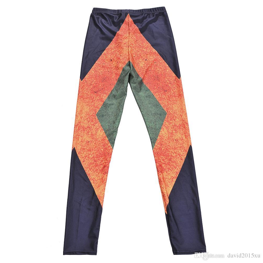 Women Fashion Jamaica Flag Galaxy Leggings Black Diving Pants Printed Sky Space Stretchy Breathe Christmas Warm Jeggings Slim Tights
