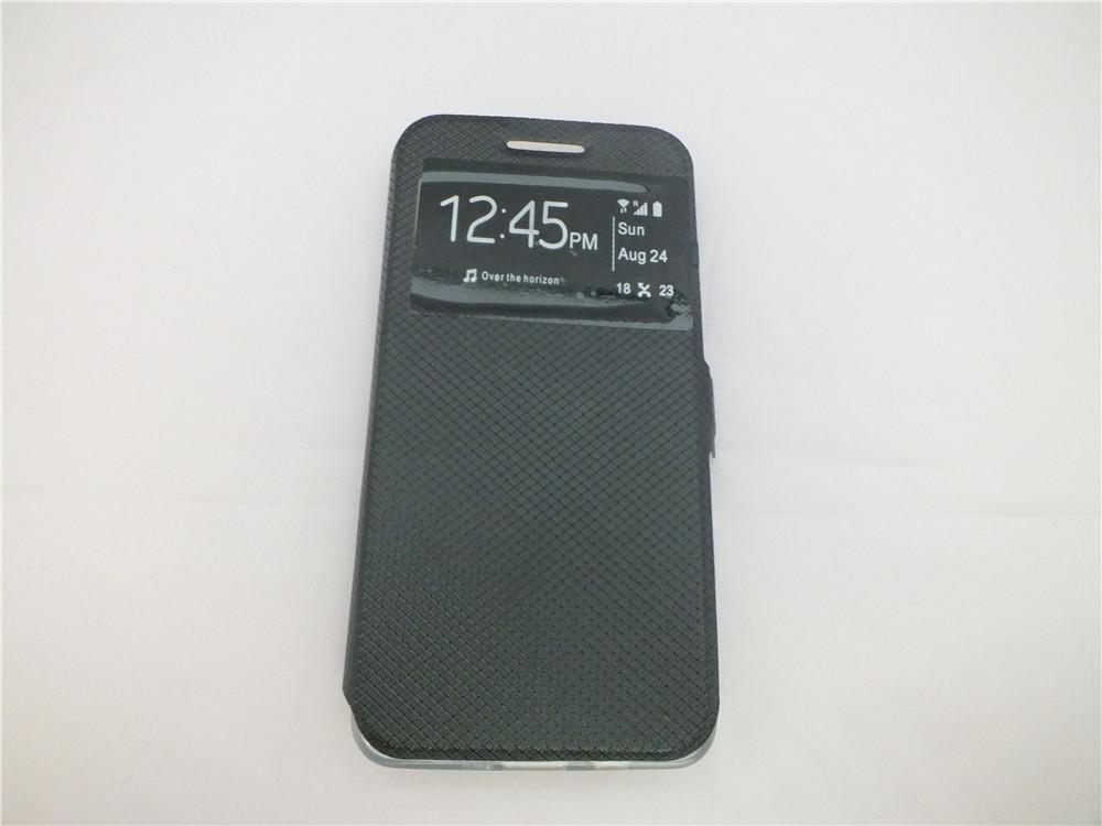 iPhone 8 Samsung Note 8 J7 Max J3 2017 J330 J5 2017 J530 Xcover 4 Z4 J7 2017 J730 Custodia in pelle PU Protezione ufficiale Flip Cover in pelle