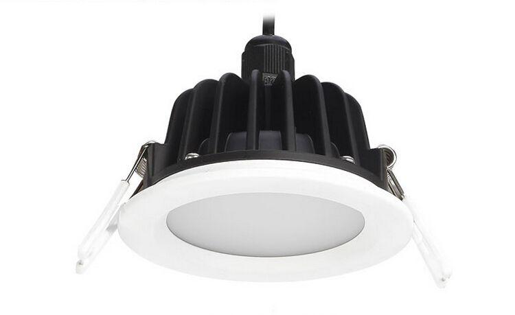 prix Wholesal 15W LED plafond Downlight AC85V-265V encastré étanche IP65 LED Applique lumière spot avec LED Driver pour la maison Lumière