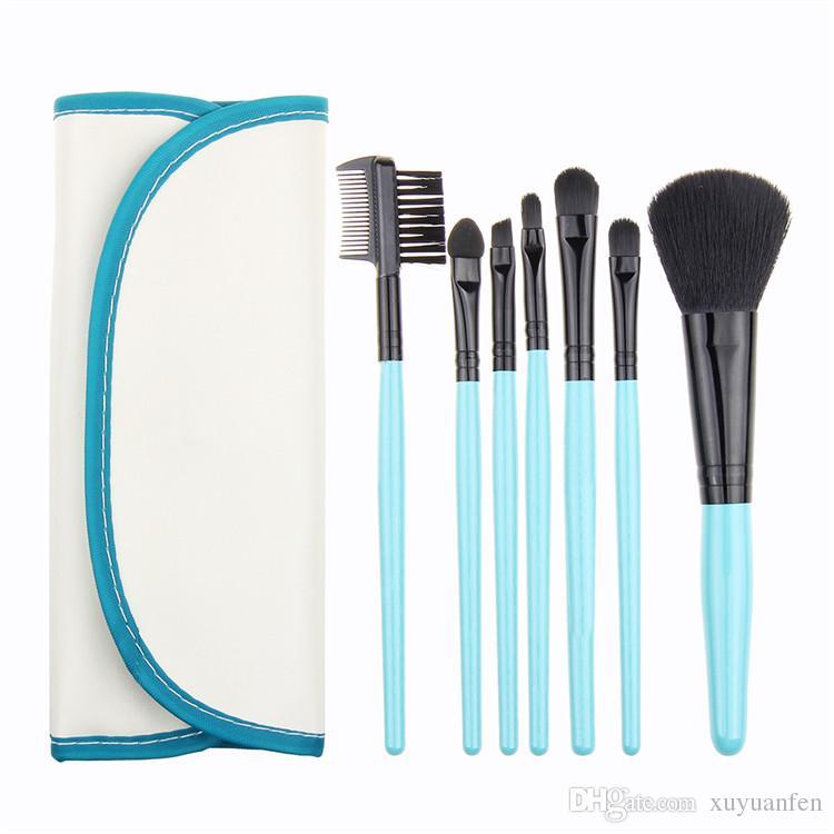 Professionnel Maquillage Brush Set outils Maquillage Trousse de Toilette Laine Make Up Brush Set Cas Brosses Outils
