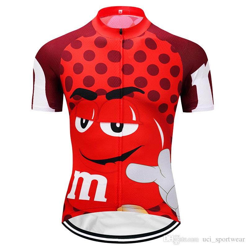 d7fe4b81 Crossrider M&M Funny Cycling Jersey Mtb Retro Bicycle Clothing Cartoon Bike  Wear Clothes Short Maillot Roupa Ropa De Ciclismo Hombre Verano Mountain  Bike ...