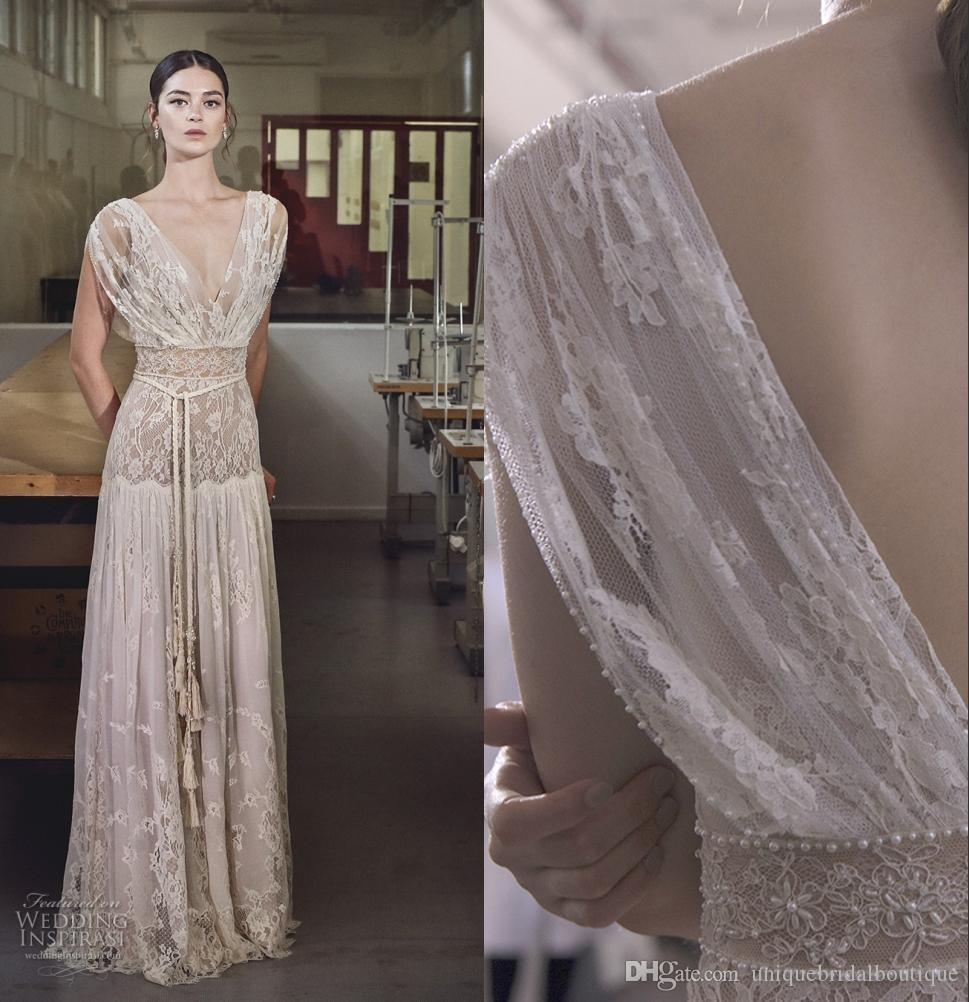 Discount Boho Wedding Dresses Lihi Hod 2017 Summer Beach Bridal ...