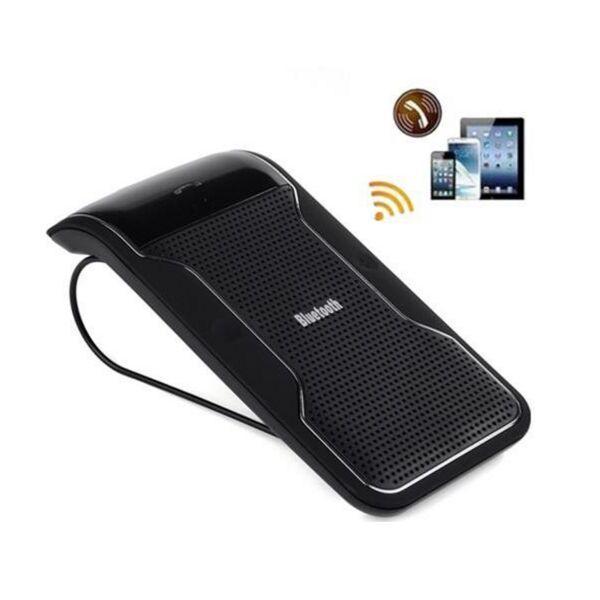 Fcarobd New Wireless Bluetooth Handsfree Car Kit Speakerphone Sun Visor Clip For iPhone Smartphones with Car Charger Speaker Receiver