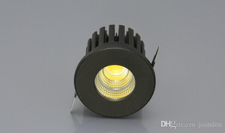 Dimmable 5W Warm White/Pure White/Cold White LED CabinetLamp Recessed COB mini LED Downlight Ceiling Lmap Super Bright Down Light AC85~265V