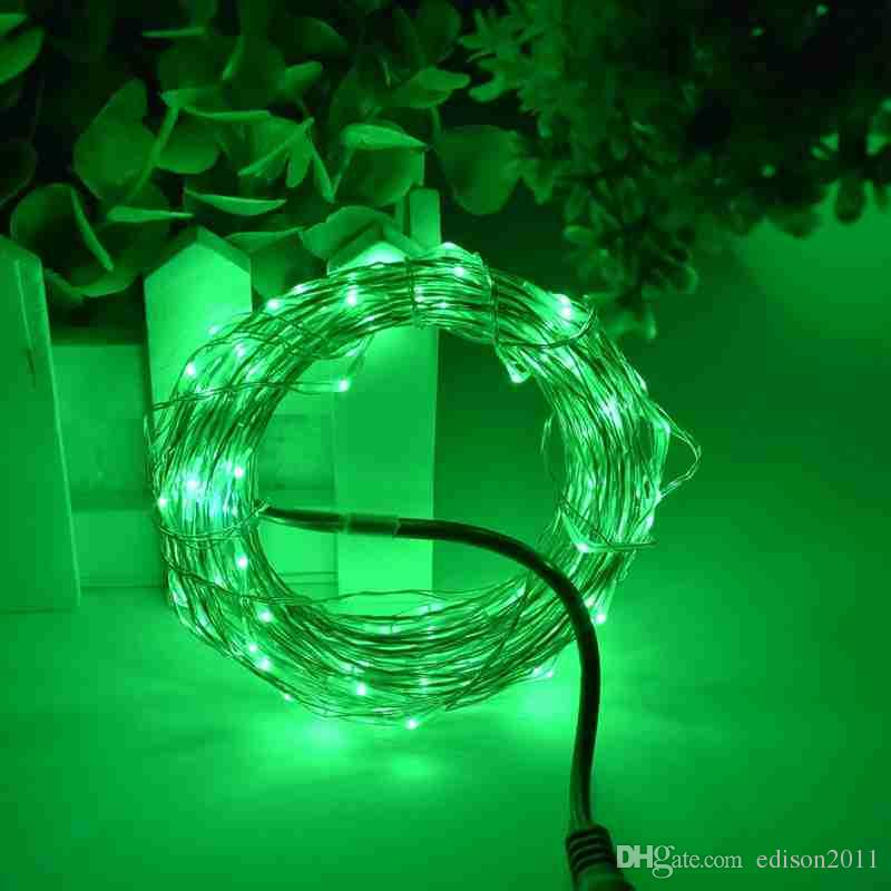 Edison2011 5M 50Leds Silver Copper Wire LED String Light Starry Lights Fairy Light Outdoor Xmas Party Garden NightLight