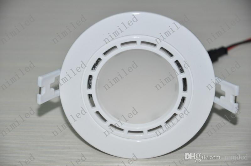 Nimi680 Aluminio + Plástico 7W Lámpara LED Downlight Apuesto Buena Radiación 85 ~ 265V Entrada Luces de techo Iluminación Blanco / Blanco cálido