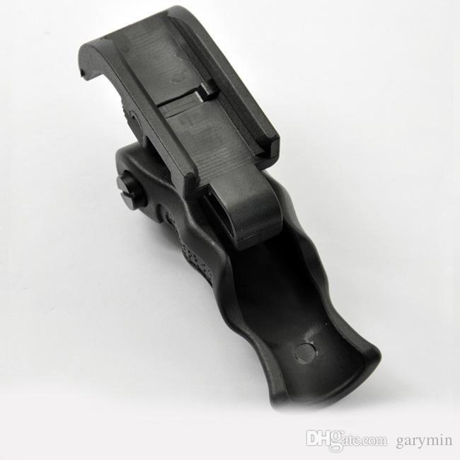 Hunting accessories Unmark Tactical QD Foldable Vertical Foregrip Black ht060