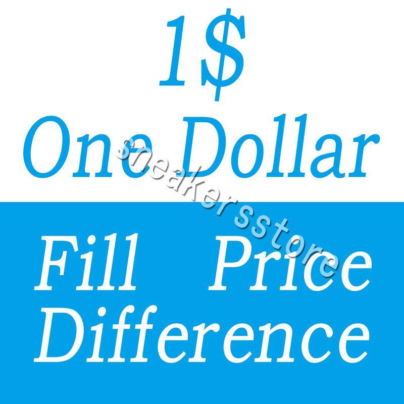 DHL EMS 다른 추가 비용 개의 다른 운송 요금 등을위한 1 달러 채우기 가격 차이 지불