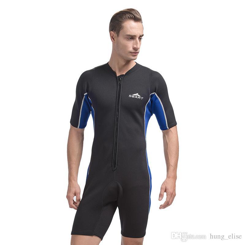 Новый неопрена 2 мм Гидрокостюм Подводное плавание костюм Цельный купальник Плавание гидрокостюм Dive Rashguard Мужчины Womens водолазный износ