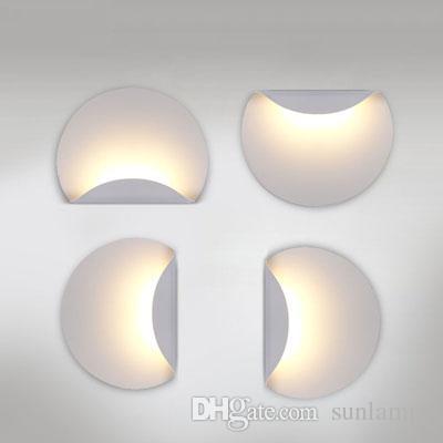 Door New Design 6W LED Aluminum Lamps Bedroom Wall Light Mirror ...