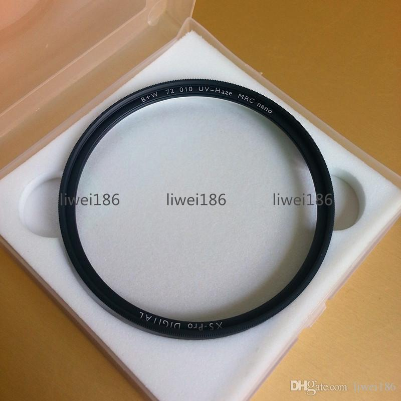 B+W UV 72mm Filter XS-PRO MRC Nano Haze Black Almite Frame BW UV Protective Multi-Resistant Coating Optical glass For camera Lens