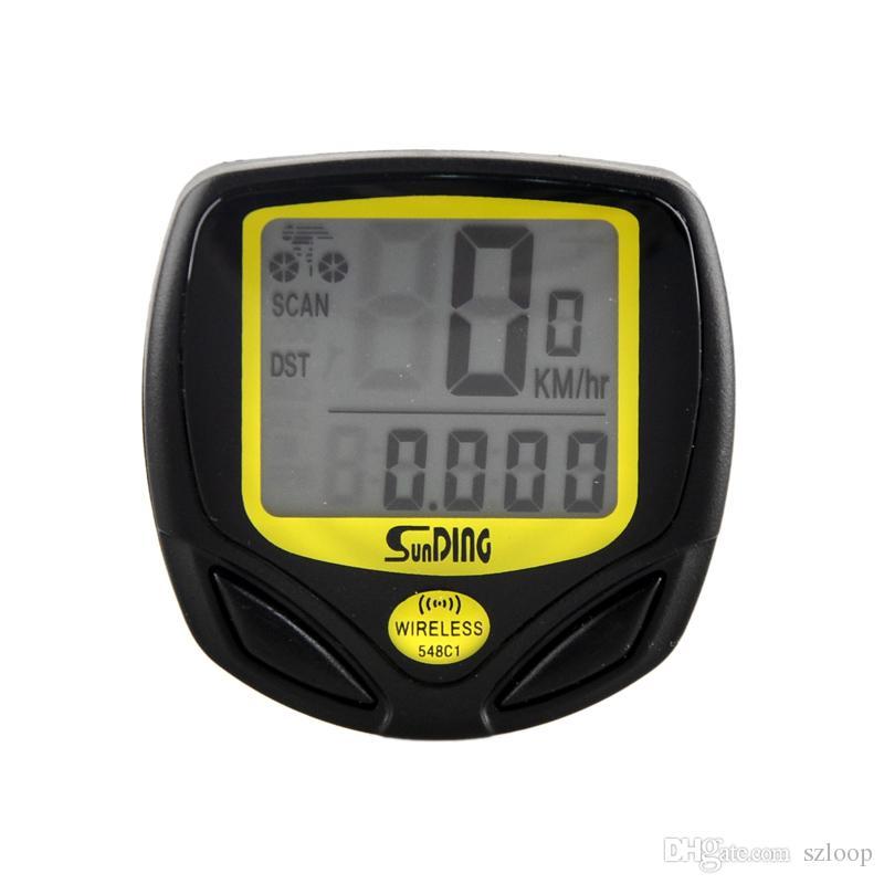 Outdoor MTB Bicycle Cycling Bike Computer LCD Display Waterproof Wireless Speedometer High Quality Odometer Meter Wholesale 2505035