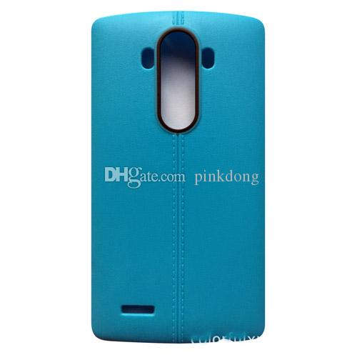 fashion Ultrathin line TPU Soft PU leather matte case cover skin for LG G4 G4c cheap case