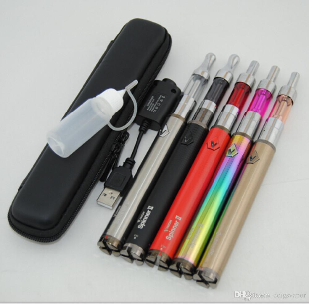 Electronic Cigarette Vision Spinner 2 ii 1650mah Battery Mini protank 2 3 Vaporizer Atomizer E Cigarette ecig eGo Vision Spinner Starter kit