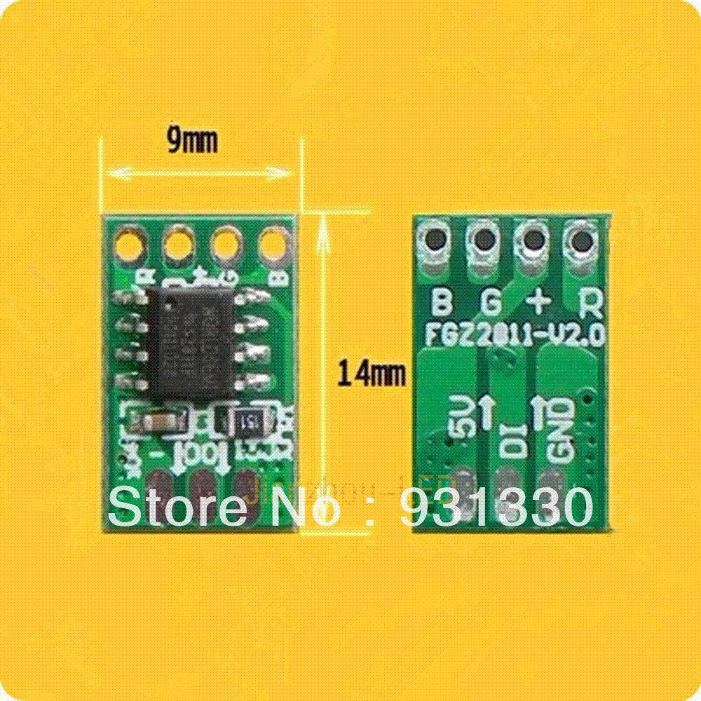 2019 9mm Ws2811 Circuit Board Pcb For Making 5v 12mm Led Build A Images Of Pixel Module From Yuankun8 5776