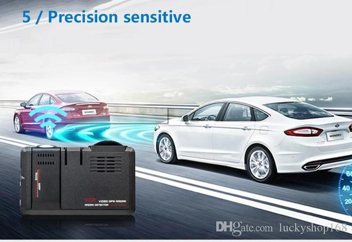 Neupreis! 2 in 1 Auto DVR Kamera Fahrzeugkamera Video Recorder Dash Cam Registrator Camcorder Radar Laser Geschwindigkeitsdetektor Nacht Visio DHL