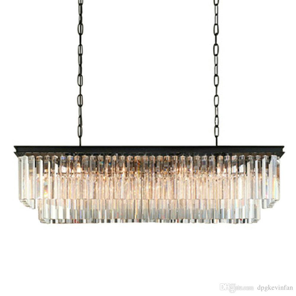 Long Dining Room Chandeliers: Chandelier Lighting Mini Large Long Crystal Chandelier