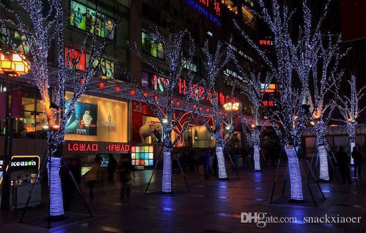 10 metros 100LED Natal Cordas de Iluminação / Casamento Ao Ar Livre / À Prova D 'Água Twinkle Chrismas Decoração / Plug Luzes Da Árvore
