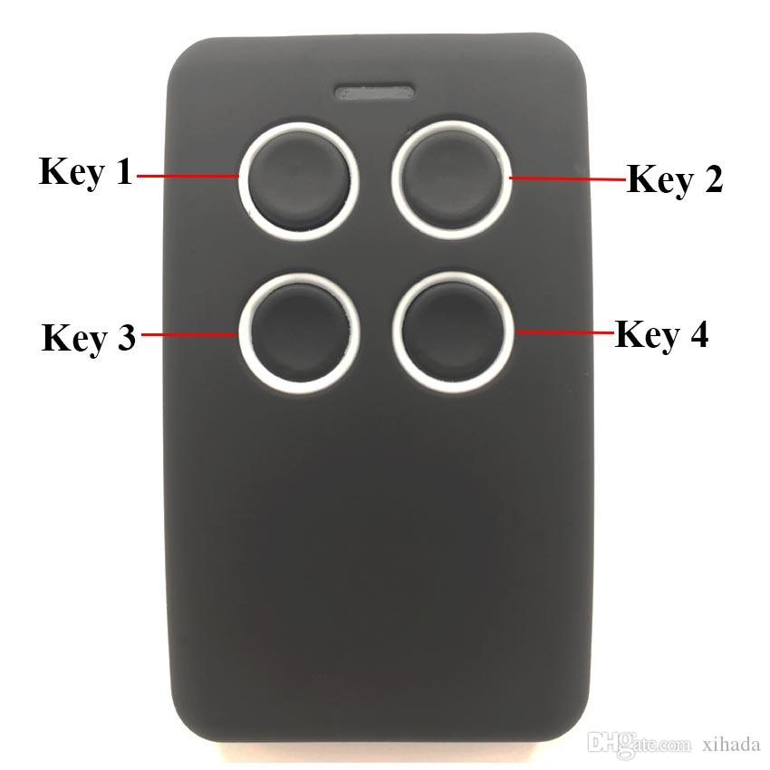 2018 Garage Door Keyless Entry Fob Multi Frequency Compatible Fixed