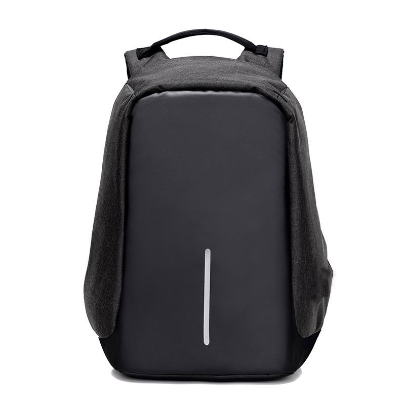 2018 Real Hot Sale Grey Vrtrend Usb Charge Anti Theft Backpack Men Travel Security Waterproof School Bags College Teenage Male 15inch Laptop