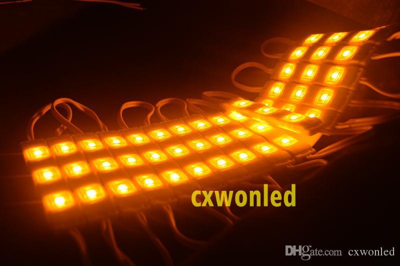 LED modülü ışık lambası SMD 5730 işareti mektuplar için su geçirmez modüller LED arka ışık SMD5730 3 led 1.2 W 150lm DC12V