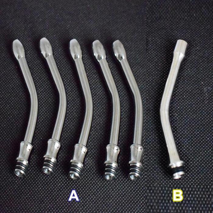 Long 510 Drip tips 510 boquilla de acero inoxidable para vivi nova DCT 510 estilo reconstruible Atomizer 510 cigarrillo de punta E goteo más largo