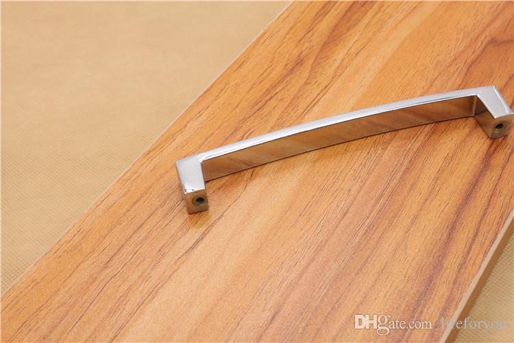 Maniglia di tipo U maniglie porta cassetto hardware tira cassetto in lega di alluminio tira manopole maniglie dell'armadio tira tira cassetto antico