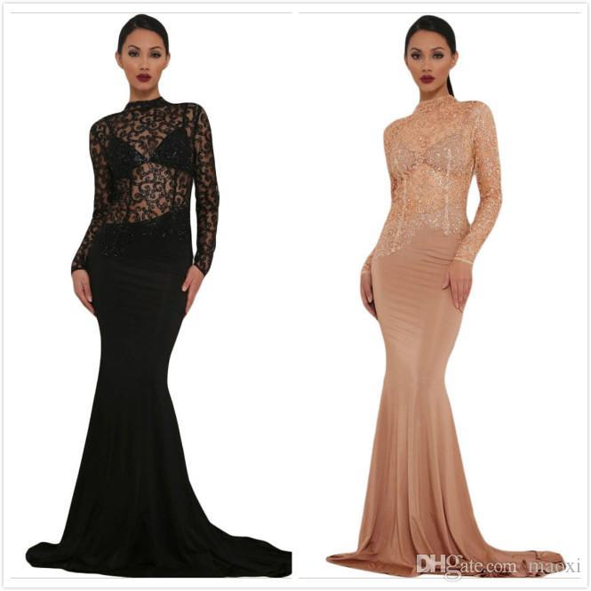 Sequen Oscars Black and Red Cocktail Dresses