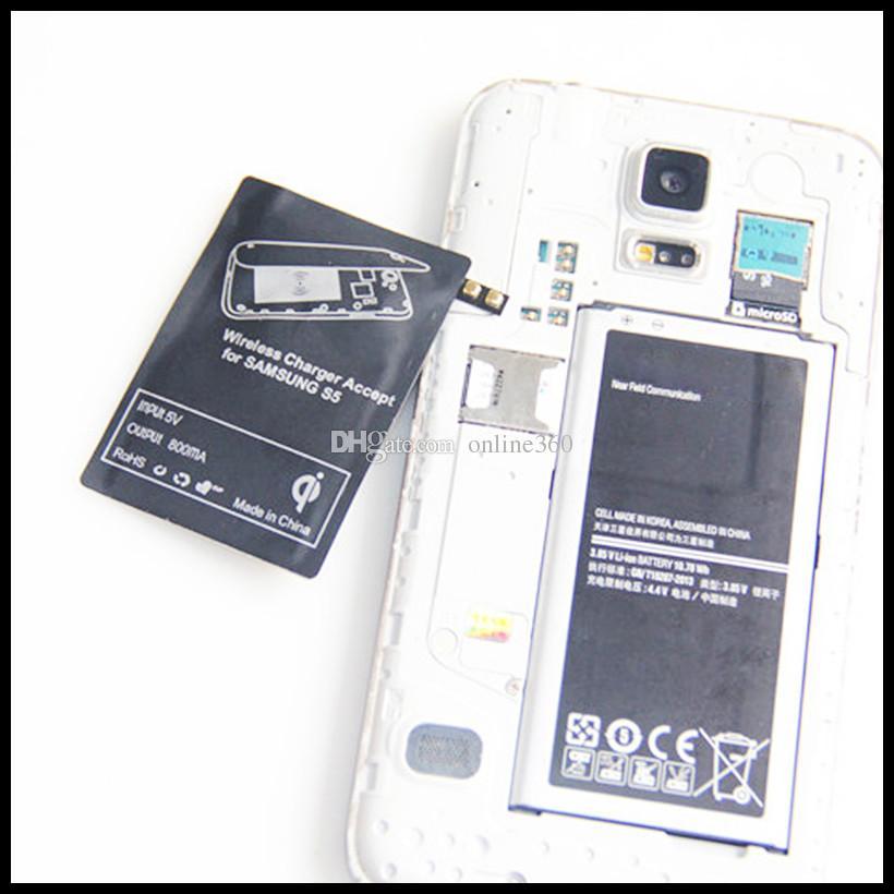 Ricevitore di ricarica del ricevitore del caricatore wireless universale ricevitore Samsung Galaxy S5 S3 S4 NOTA 4 NOTA 3
