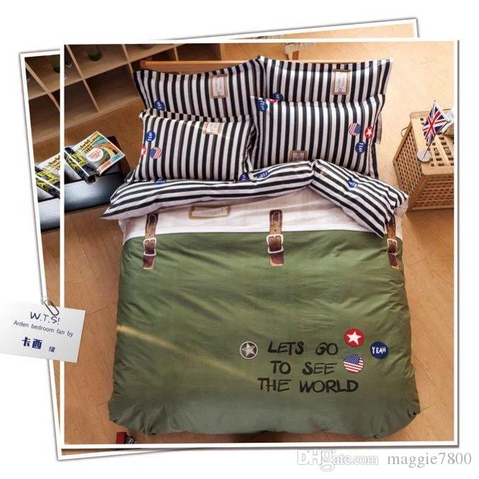 Feathers Wholesale Duvet Cover+Fitted Sheet+Pillow Case ...