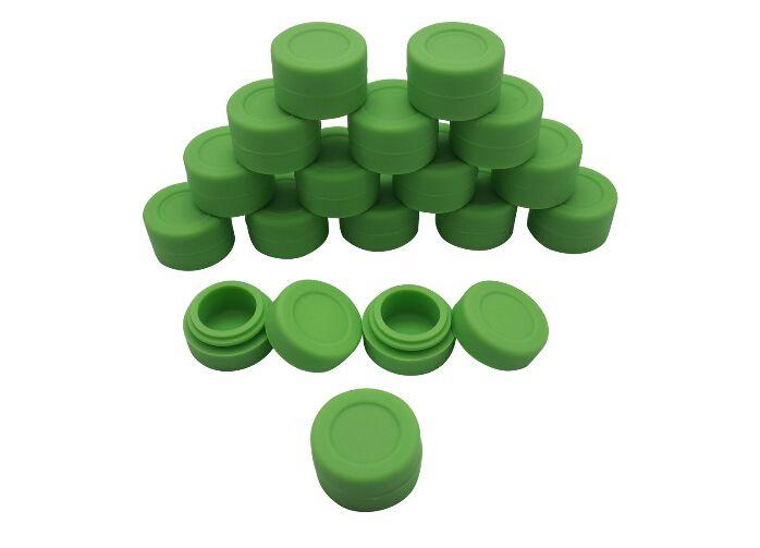 Запас в США! 10 шт./лот 3 мл силиконовый контейнер концентрат силиконовые антипригарным контейнер