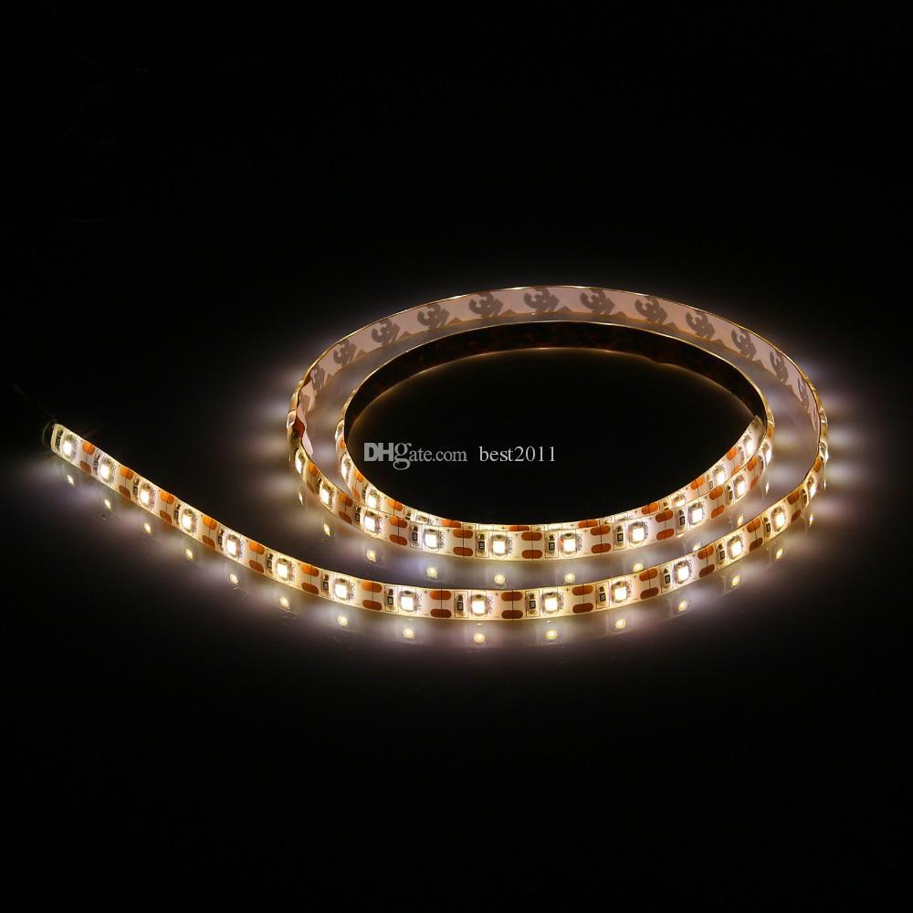 50 см 100 см 150 см 200 см DC 5 В USB кабель RGB светодиодные полосы света строка 3528 SMD Декоративная лента лампа лента для ТВ фонового освещения