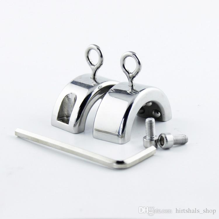 Ball Stretcher Weights for CBT Zinc Alloy 1 Size Adult BDSM Sex Games Scrotum Stretching Bondage Chastity Device