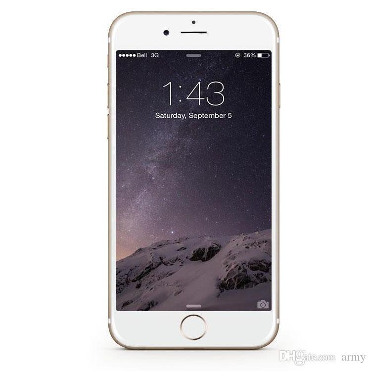 Refurbished Unlocked Original Apple iPhone 6 Plus Iphone 6 16GB 64GB 128GB 5.5 Screen IOS 8 3G WCDMA 4G LTE 8MP Camera Mobile Phone