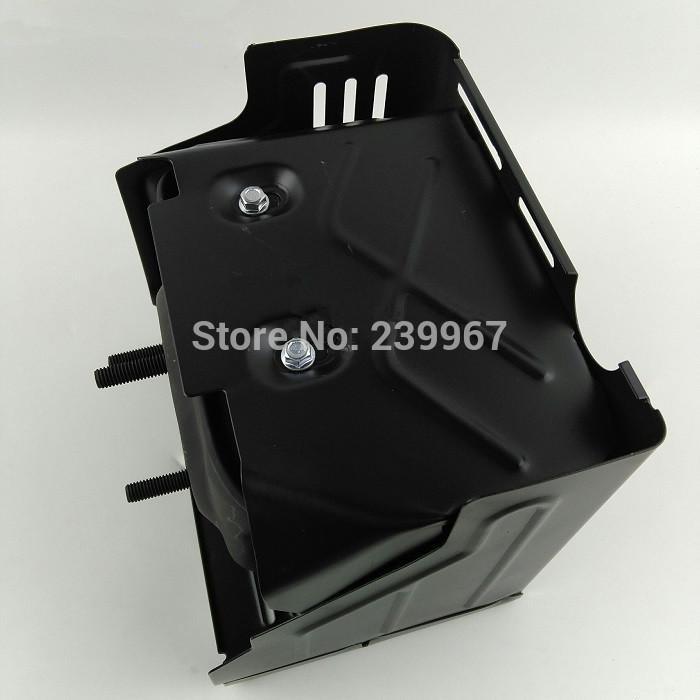 Muffler & Cover  Style A  fits Honda GX340 GX390 GX420 389CC 420CC 13HP heat shield assy water pump rail parts