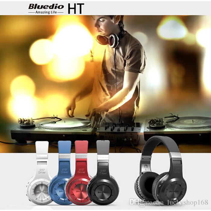 Günstigster Bluedio HT Shooting Brake Drahtloser Bluetooth-Kopfhörer BT 4.1-Version Stereo Bluetooth Headset integriertes Mikrofon für Anrufe mit DHL