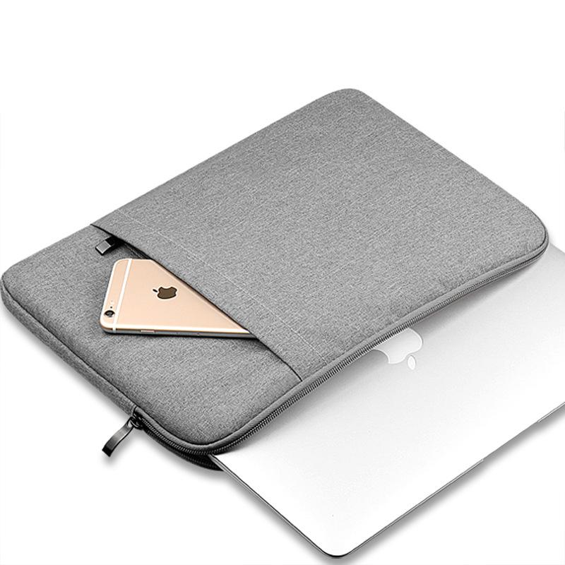 Laptop Bags Sleeve Notebook Case For Dell HP Asus Acer Lenovo Macbook 11 12  13.3 15 Inch Soft Cover For Retina Pro 13.3 Keyboard Case For Tablet  Notebook ... f5aaff125c58