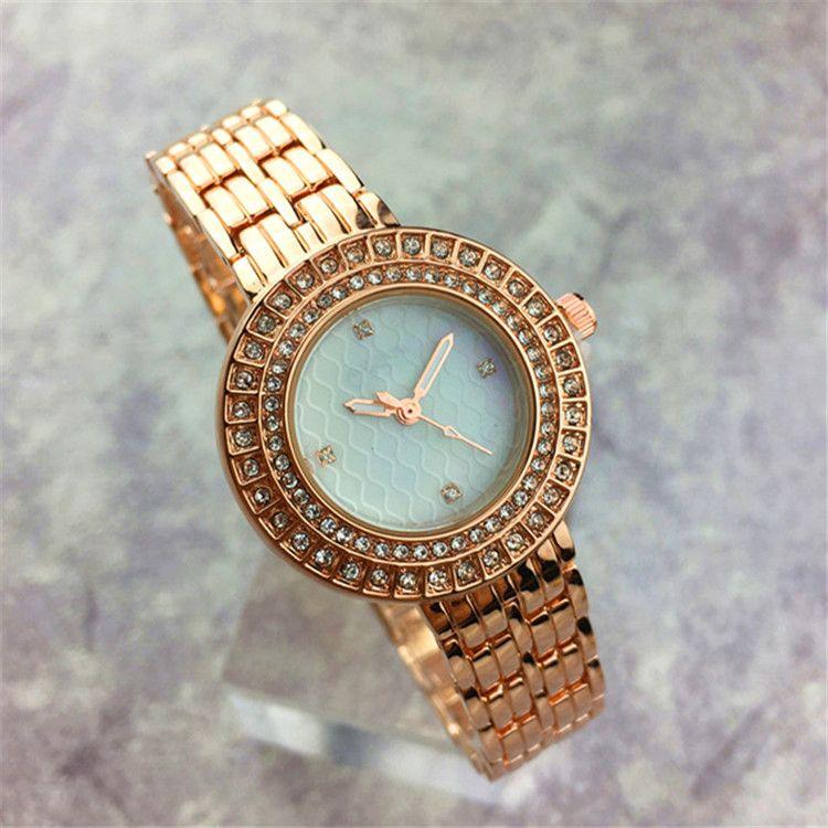 82499b76c New Model Diamond Dial Face Women Watch Rhinestone Nurse Steel Bracelet  Chain Lady Wristwatch Girls Gift Luxury Rose Gold Sexy Cheap Wrist Watches  Watches ...