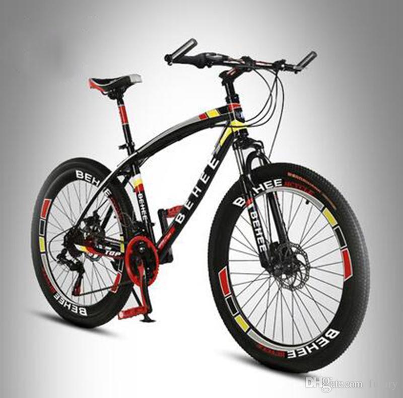 26 Inch Aluminum 21 Speed Mountain Bike 50 Knife High Carbon Brake ...