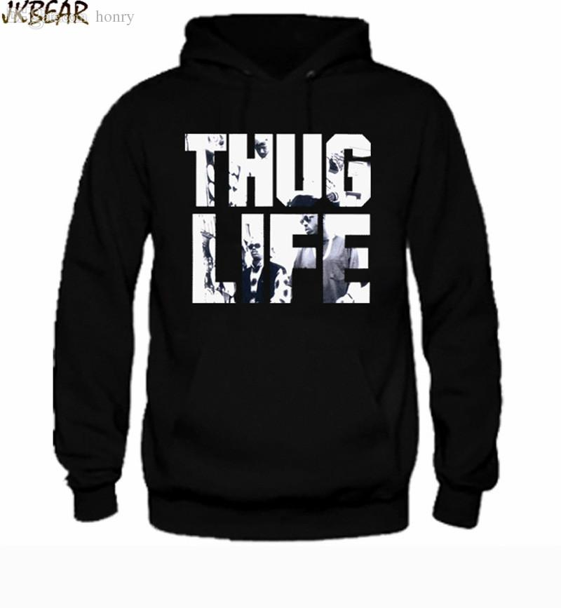 7013f41351c Wholesale-Hot-sale Rapper Tupac Thug Life Hoodies for Men And Women ...